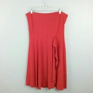 Loft//Strapless Dress